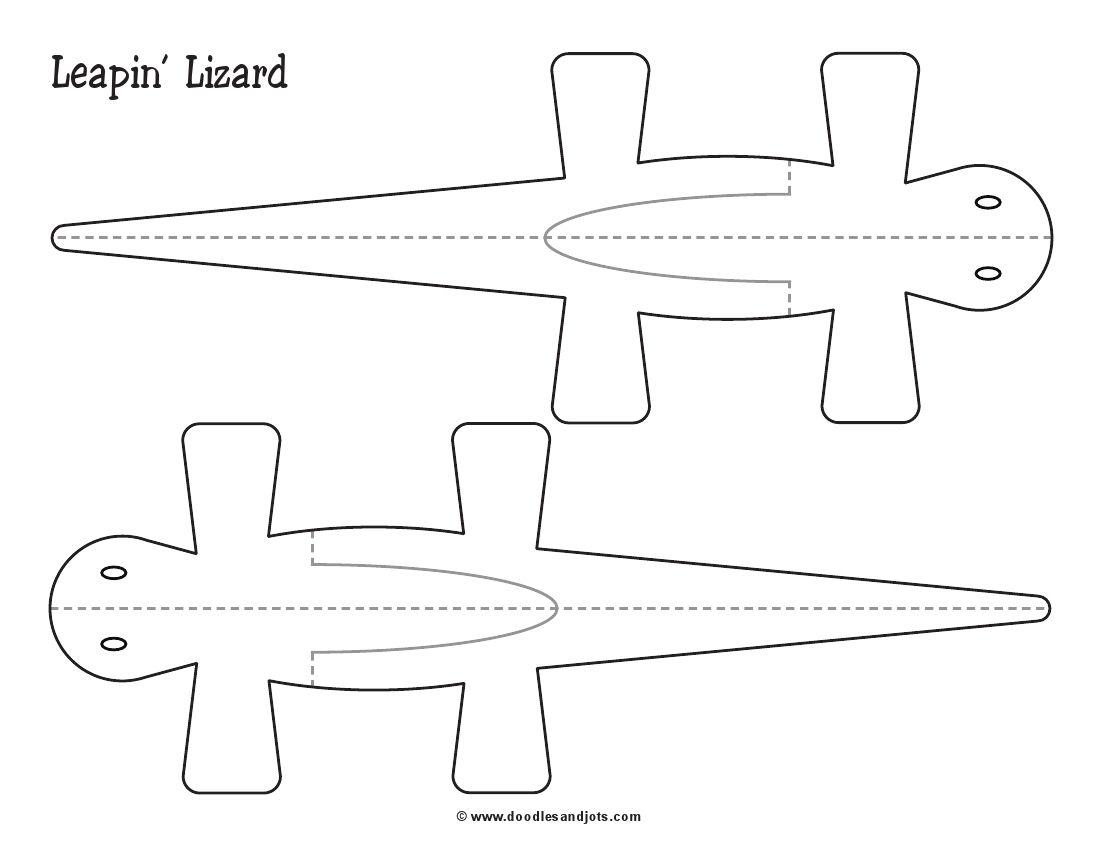 Fun Lizard Craft For Kids