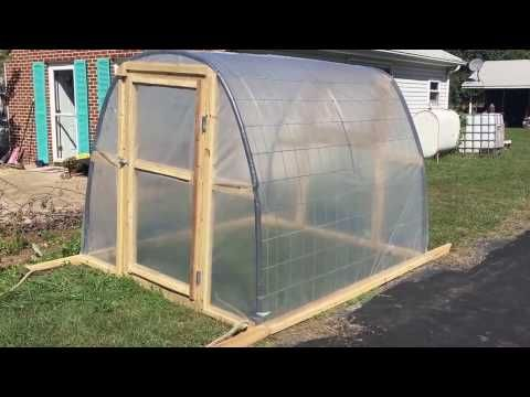 Cost Effective DIY Cheap Greenhouse | Cheap greenhouse ...