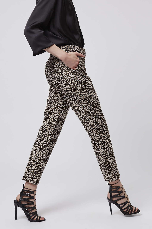 11a57678c56c Photo 2 of Leopard Print Cigarette Trousers   Style Bible ...