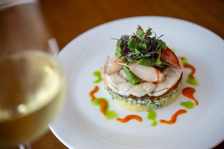 Azure Lobster Salad- Fingerling potatoes, haricots vert,  roasted pepper, fennel, olive tapenade