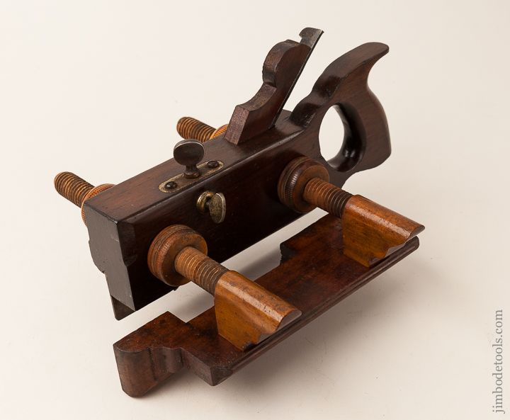 Extra Fine Rosewood Plow Plane By Ohio Tool Co Circa 1851 1913 Antique Tools Old Tools Tools
