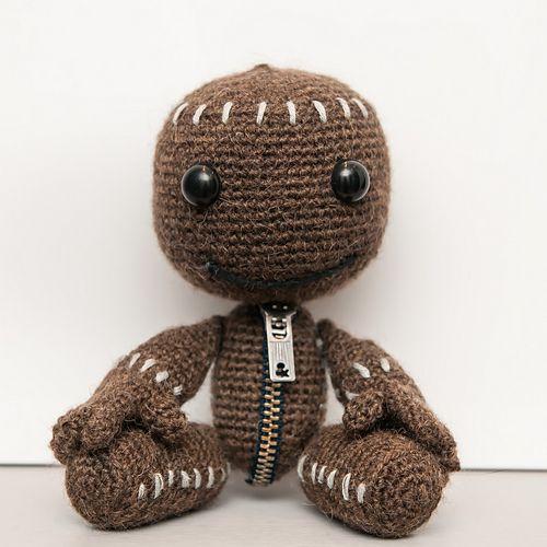 Sackboy From My Little Big Planet Pattern By Anna Carax Crochet