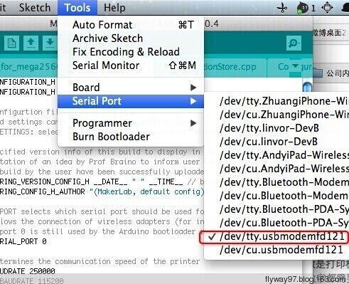 Marlin Firmware basic settings for Reprap Prusa i3 | 3D