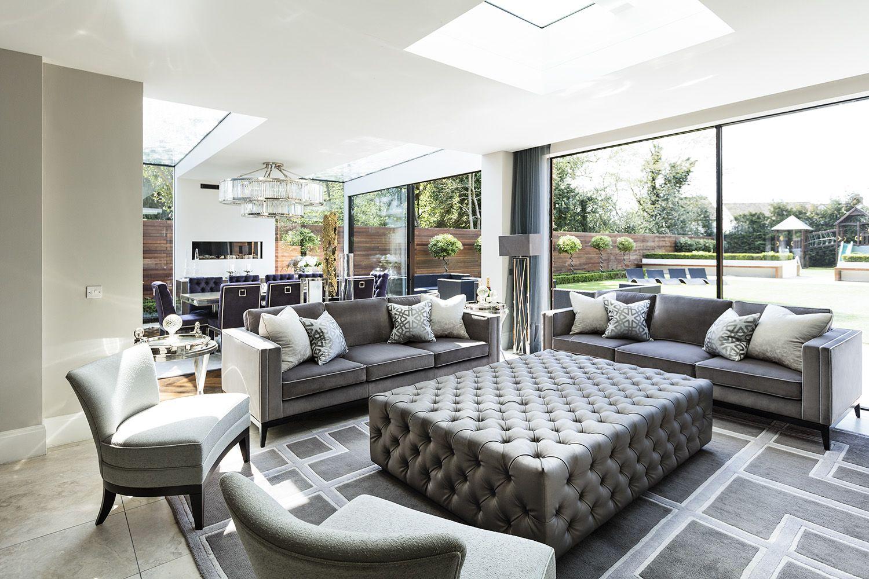 Elegant Mansion Living Room Decor The Perfect Blend Of Modern