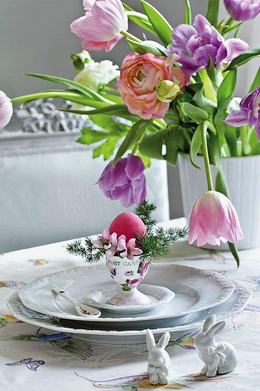 Pisanki I Kwiaty Na Wielkanoc 2017 Tulipany Kwiaty Wielkanoc Wielkanoc2017 Dekoracje Diy Zrob To Sam Easter Inspiration Pink Easter Easter Celebration