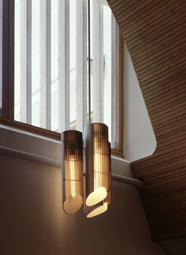 Lightning Maison Luis Carré 1959, Alvar Aalto Scandinavian Design - maison avec tour carree
