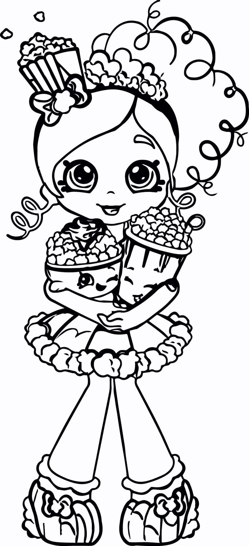 shopkin coloring pages that you can print. Shopkins Wild