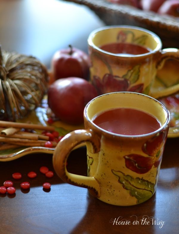 Apple Cider...  my girls LOVE this! <3