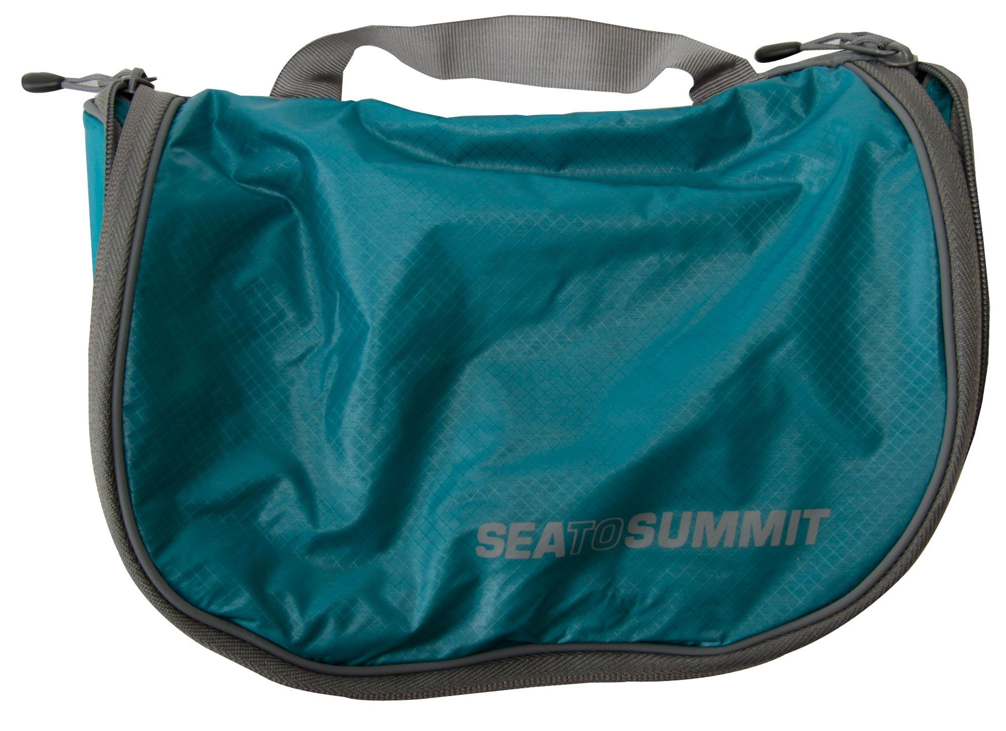 Sea To Summit Travelling Light Hanging Toiletry Bag Large Pacific