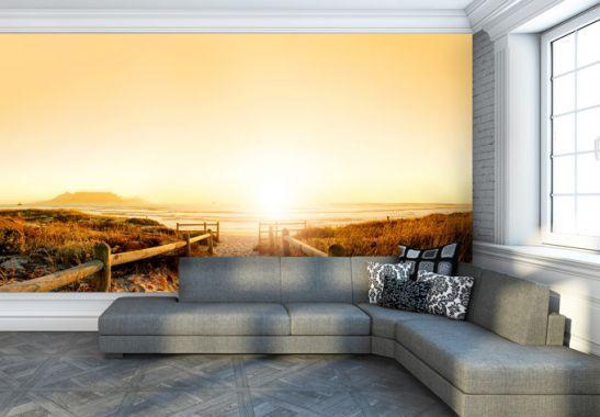 Fototapete Sunset At The Beach Pinterest Fototapete Online