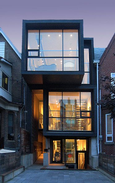 Six Cool And Contemporary House Exteriors Toronto Ceiling And Exterior