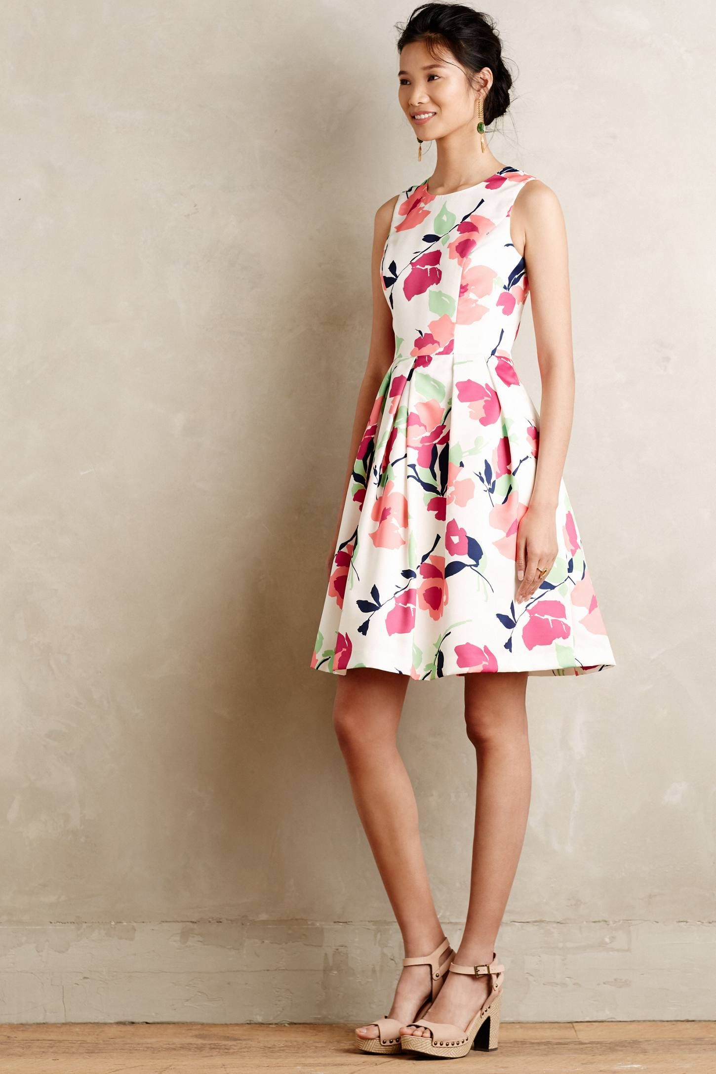 fabulous bridal shower dresses to wear if youre the bride dress from anthropologie featured on dress for the wedding