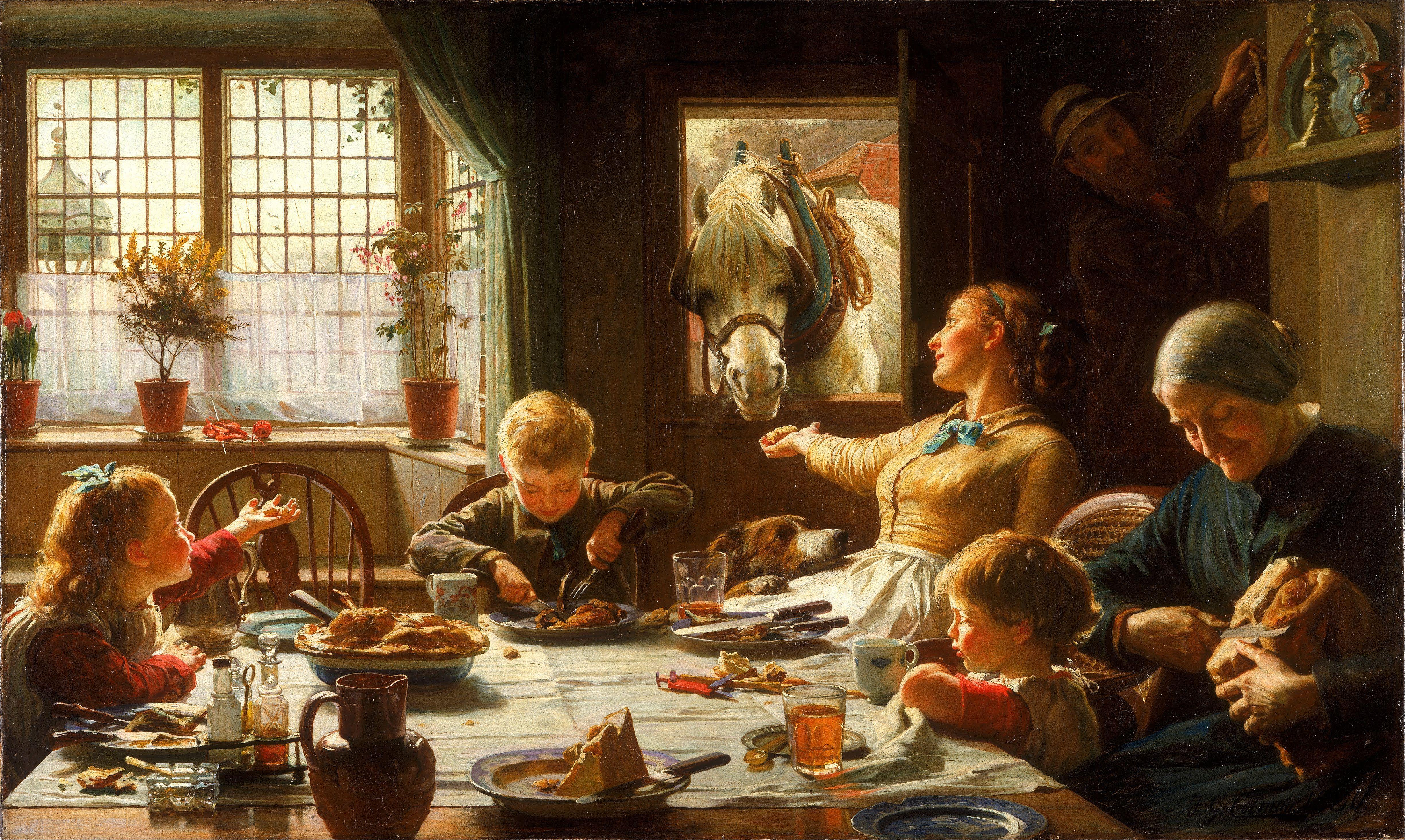 Of Family Victorian Artist . Cotman