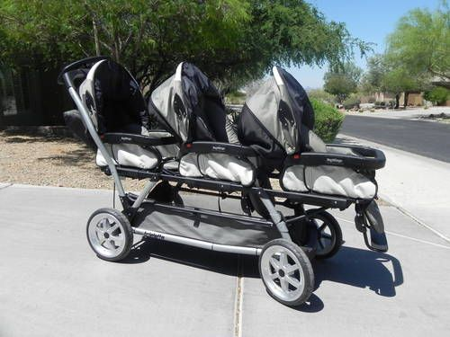 Peg Perego Triple Stroller Things I Need Peg Perego