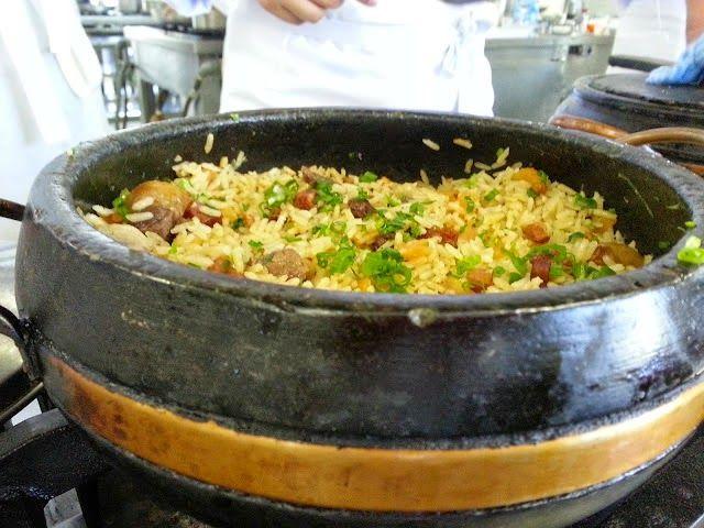 Culinária de Domingo: ARROZ CARRETEIRO(COM VINHO BRANCO)