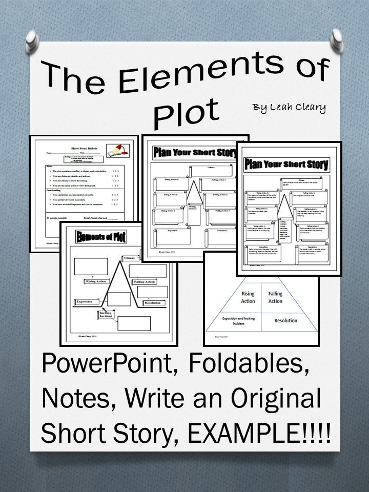 Elements Of A Plot Writing And Yzing Short Stories