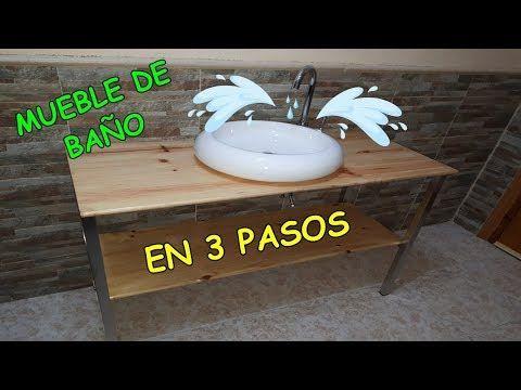 Diseño y Fabrico Mueble de baño / Como poner Grifo y