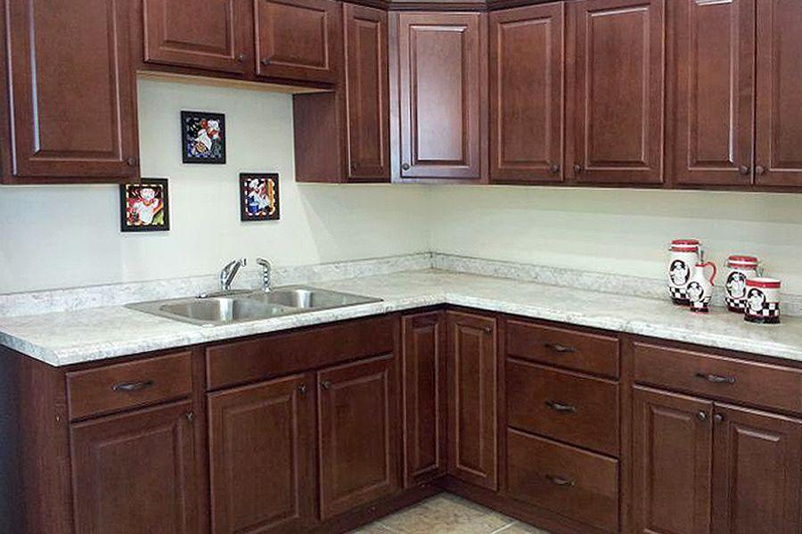 Prescott Chestnut Kitchen Cabinets
