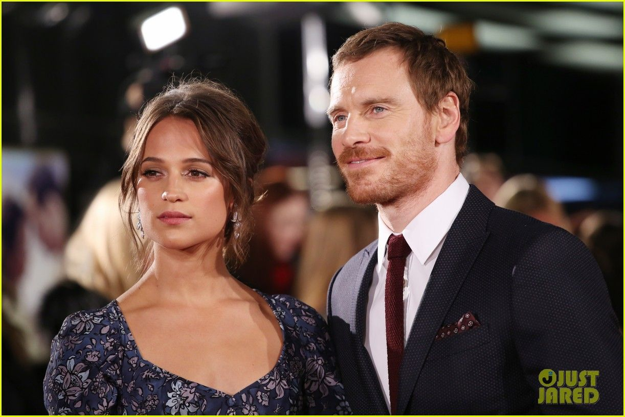 Michael Fassbender & Alicia Vikander Are Picture Perfect at 'Light Between Oceans' Premiere