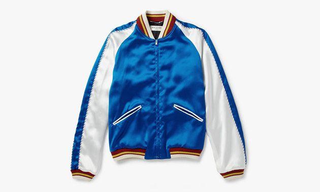 Saint Laurent Satin Bomber Jacket • Highsnobiety