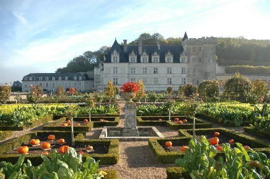 Chateau De Villandry Potager Garden French Garden Organic Raised Garden Beds
