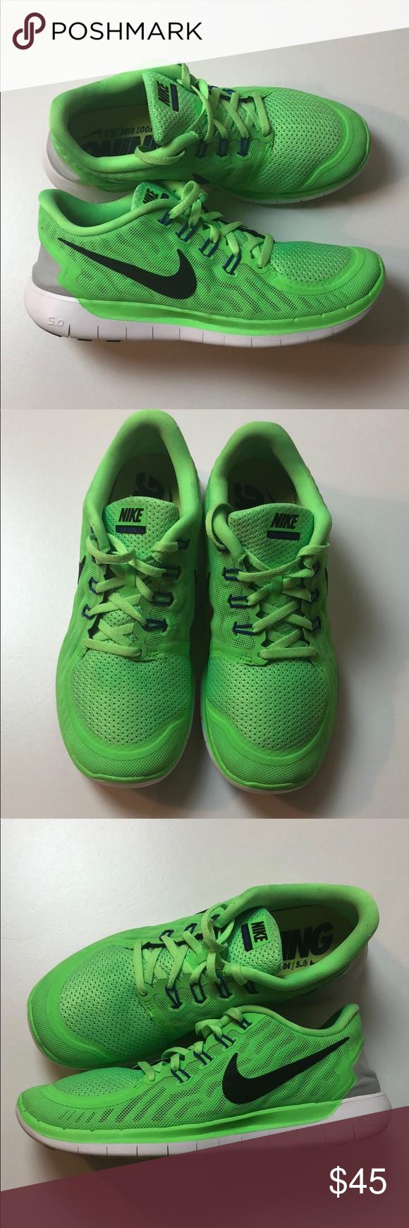Recuerdo dos semanas Desgastar  Nike Free 5.0 Running Bare ride Neon Green | Nike free, Nike neon, Womens  shoes sneakers