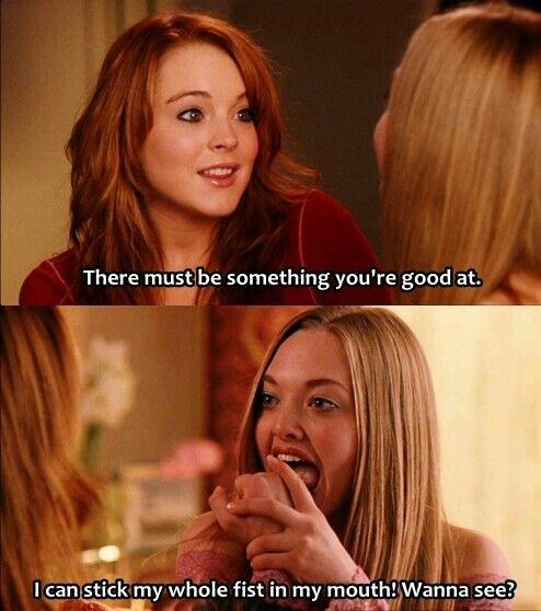 Karen Karen Karennnn Mean Girls Movie Mean Girl Quotes Mean