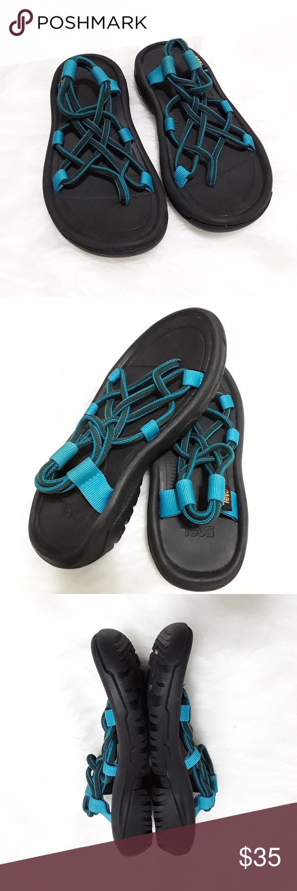 Teva Hurricane Xlt Infinity Arctic Forest Sandal 5 Teva Womens Flip Flop Sandals