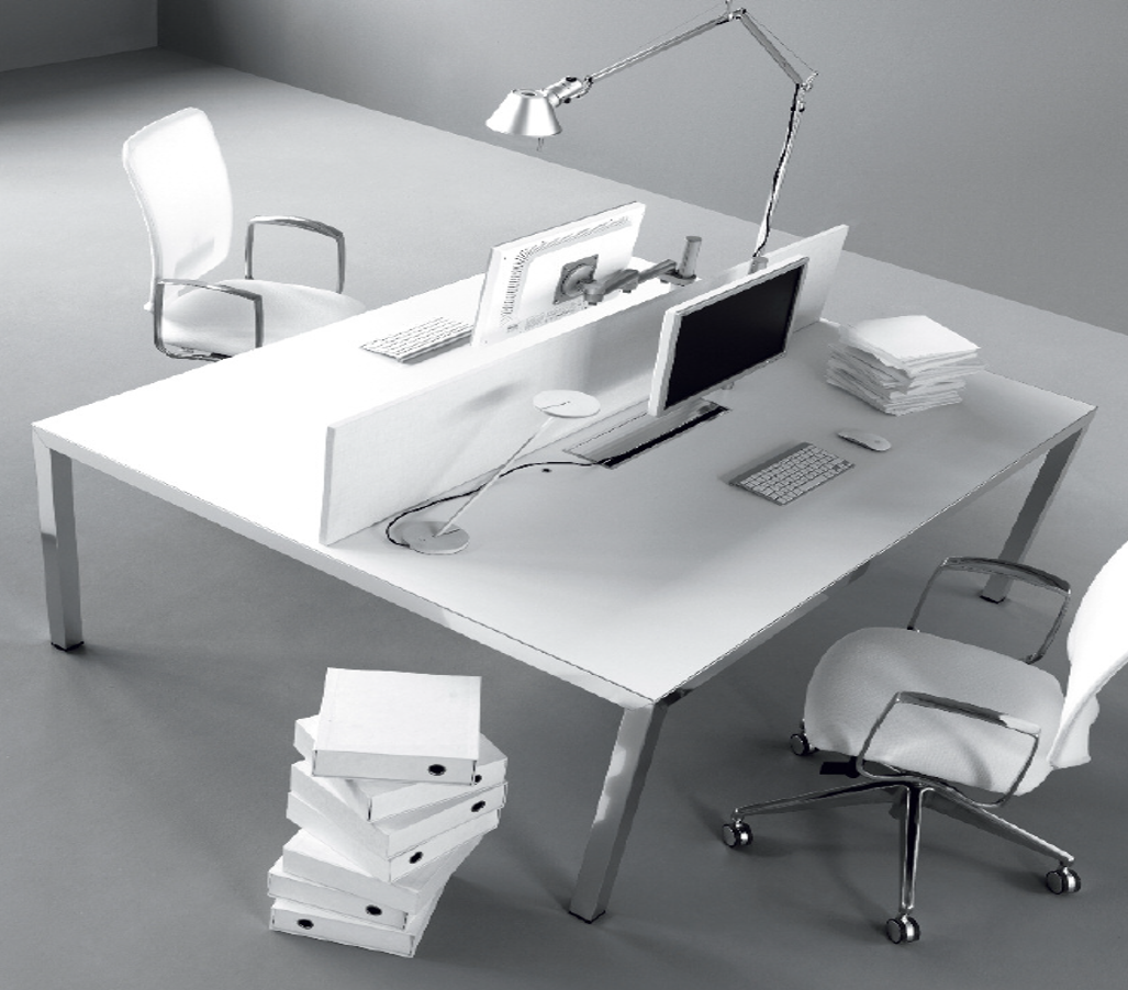 I BENCH Desk By IVM U0026 SINTENSI Operative Chairs By TCC