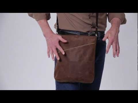 Gift iDea  Indy Bag for iPad - WaterField Designs - Leather Indy Bag for Tablets - SFBags.com