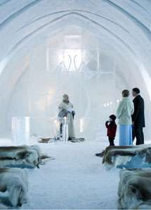 Get Married in an Ice Church   #White wedding receptions ... Wedding ideas for brides, grooms, parents & planners ... https://itunes.apple.com/us/app/the-gold-wedding-planner/id498112599?ls=1=8 … plus how to organise an entire wedding, without overspending ♥ The Gold Wedding Planner iPhone App ♥