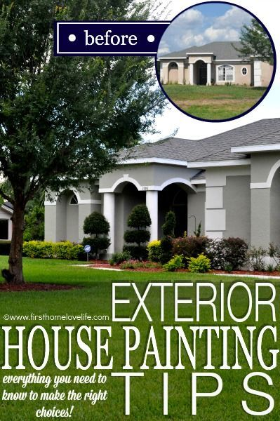Exterior house painting tips home improvement diy - Tips on painting exterior of house ...