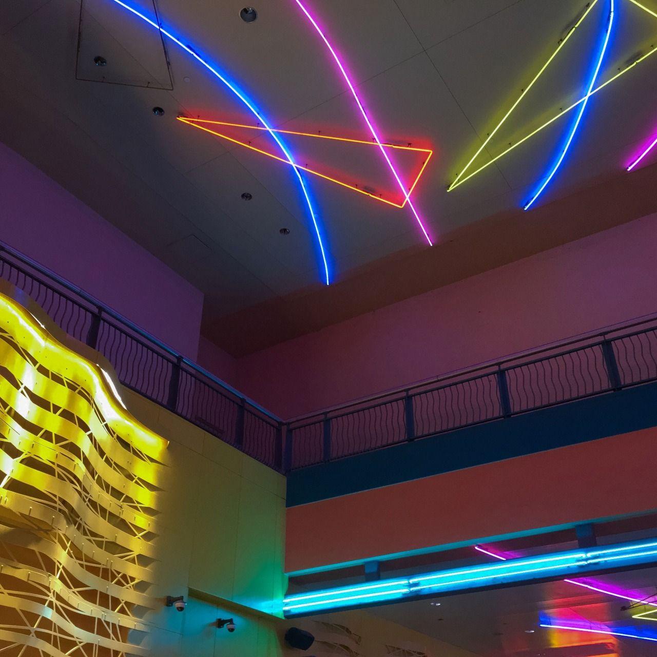 Dead Malls, Neon Aesthetic, Retro