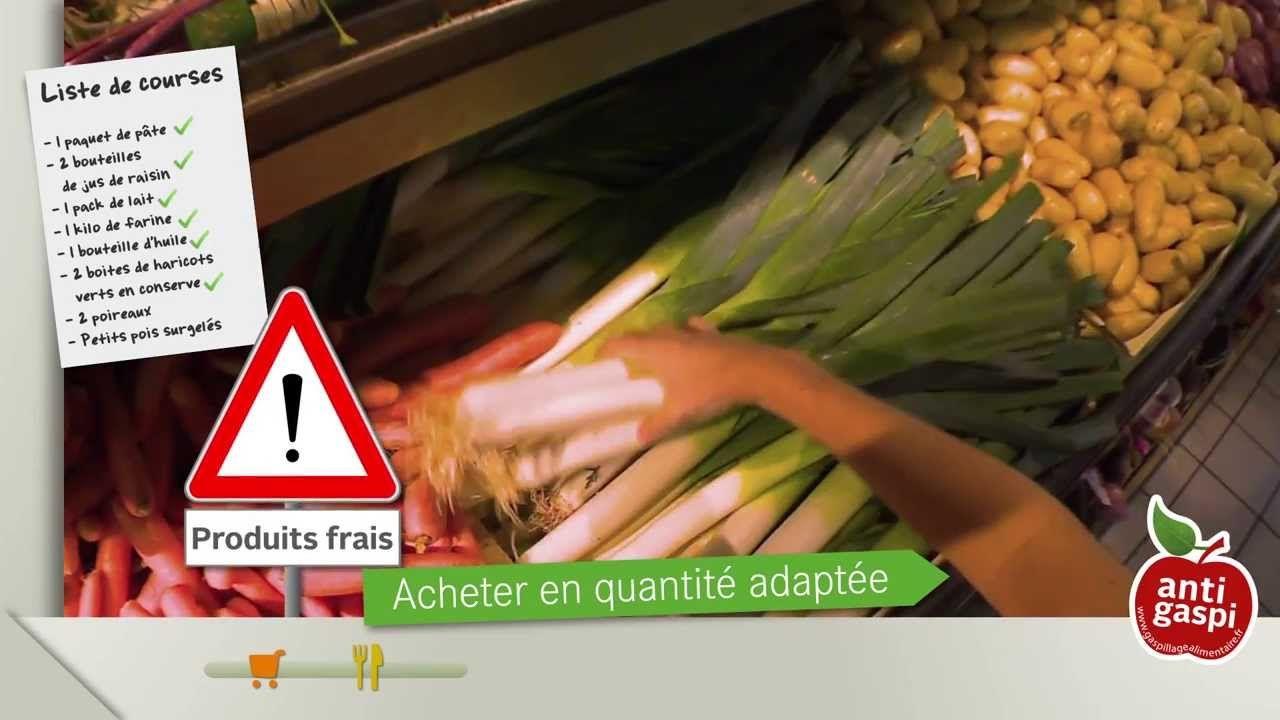 Le gaspillage alimentaire n'est pas une fatalité ! On peut tous y remédier !