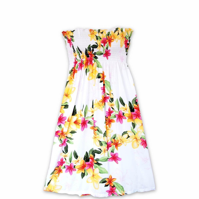0c657544e7f Always made in Hawaii at Lavahut! Rain White Moonkiss Hawaiian Dress   lavahut  madeinhawaii  floraldresses  alohadress  hawaiiandress   hawaiianclothing   ...