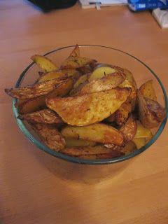 Allerlei Rezepte und mehr: Knusprige Kartoffelecken