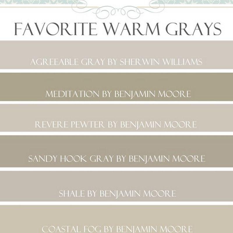 Favorite Paint Colors: Paint Colors That Go With WOOD