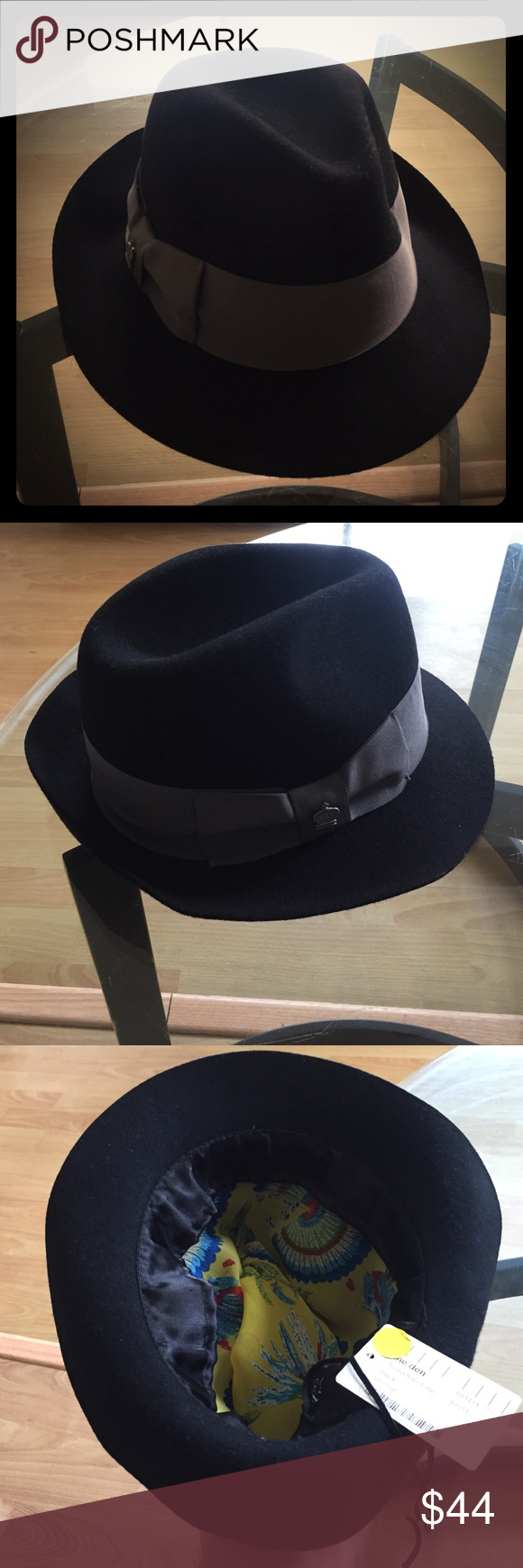 bc44c085509ca Christy s Crown Collection Women s Fedora Adjustable to any head size.  Excellent quality black suede exterior