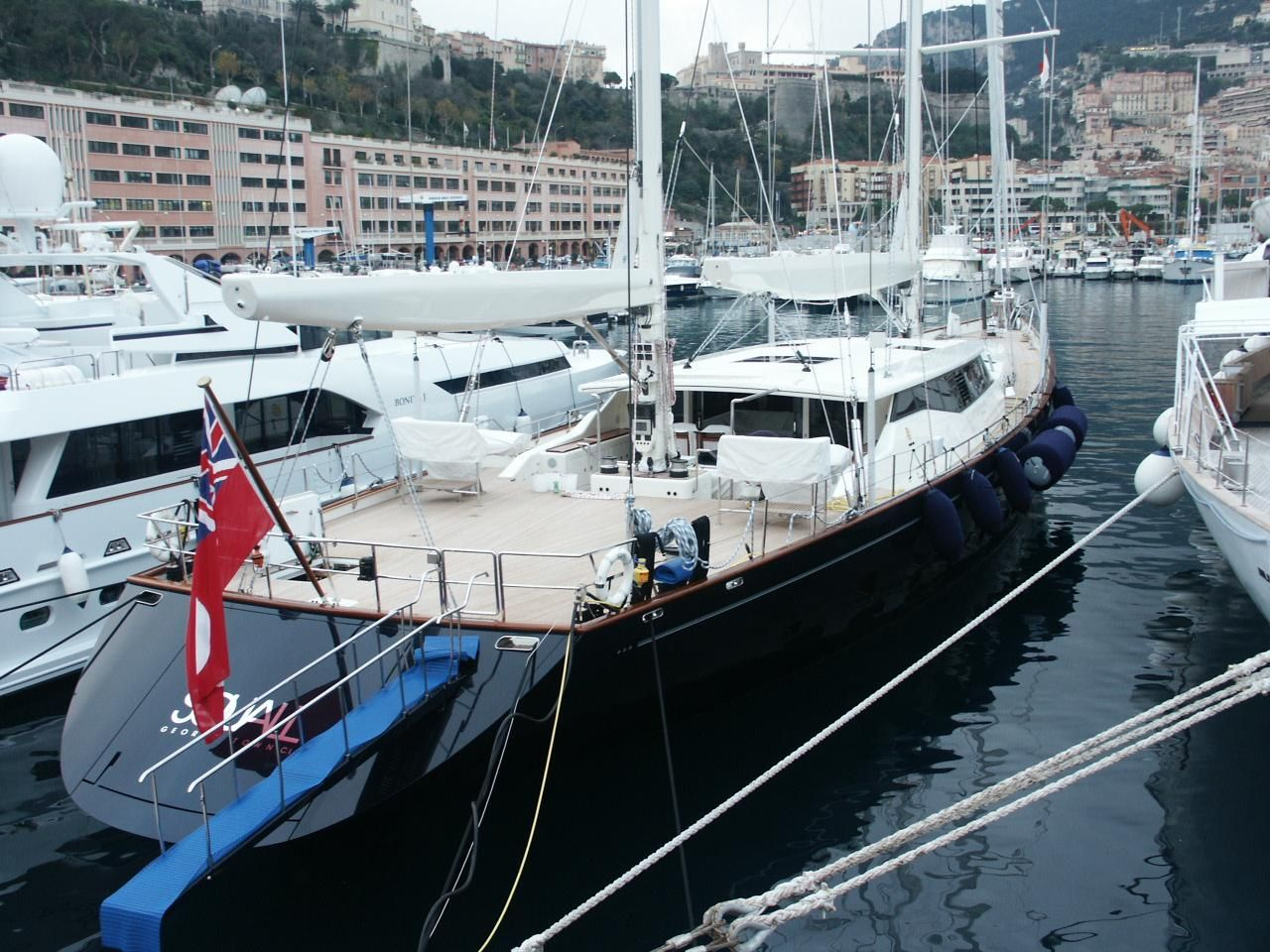 Super segelyachten  Sailing Yacht - Squall - Perini Navi - Completed Superyachts on ...