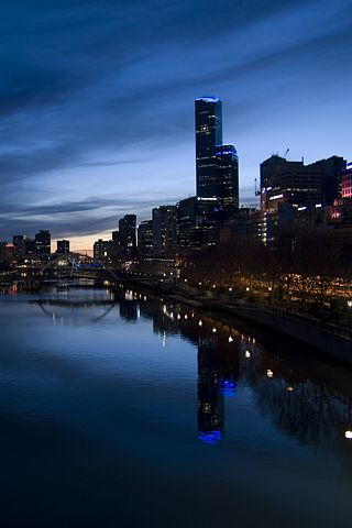 Yarra River, Melbourne, Australia iPhone Wallpaper   iDesign * iPhone