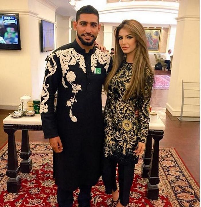 Faryal Makhdoom And Amir Khan