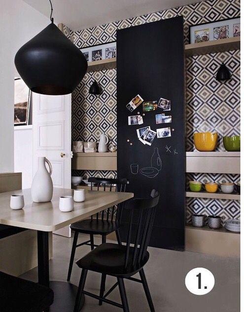 Grafismo na cozinha