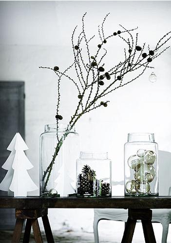 Christmas decor inspiration #winter #decoration #christmas