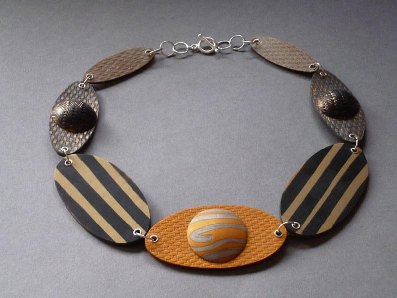 Photo of Golden Variety Halskette – Vom Polymer zum Kunstmagazin Gold – – #accesoriesjew ….