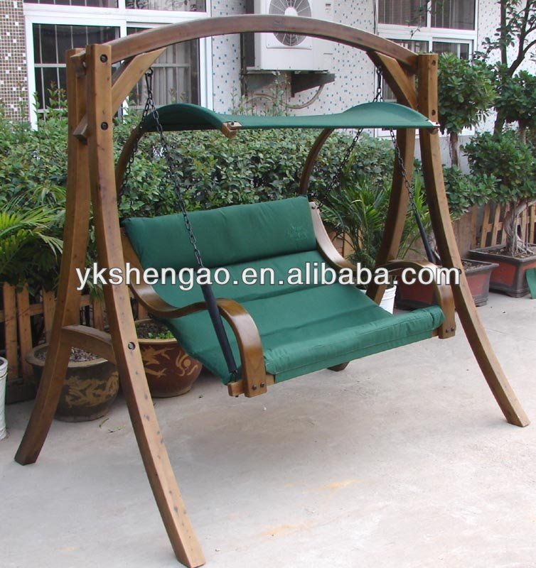 Hanging Chair Double High Back Patio Cushions Wooden Swing Projects To Try