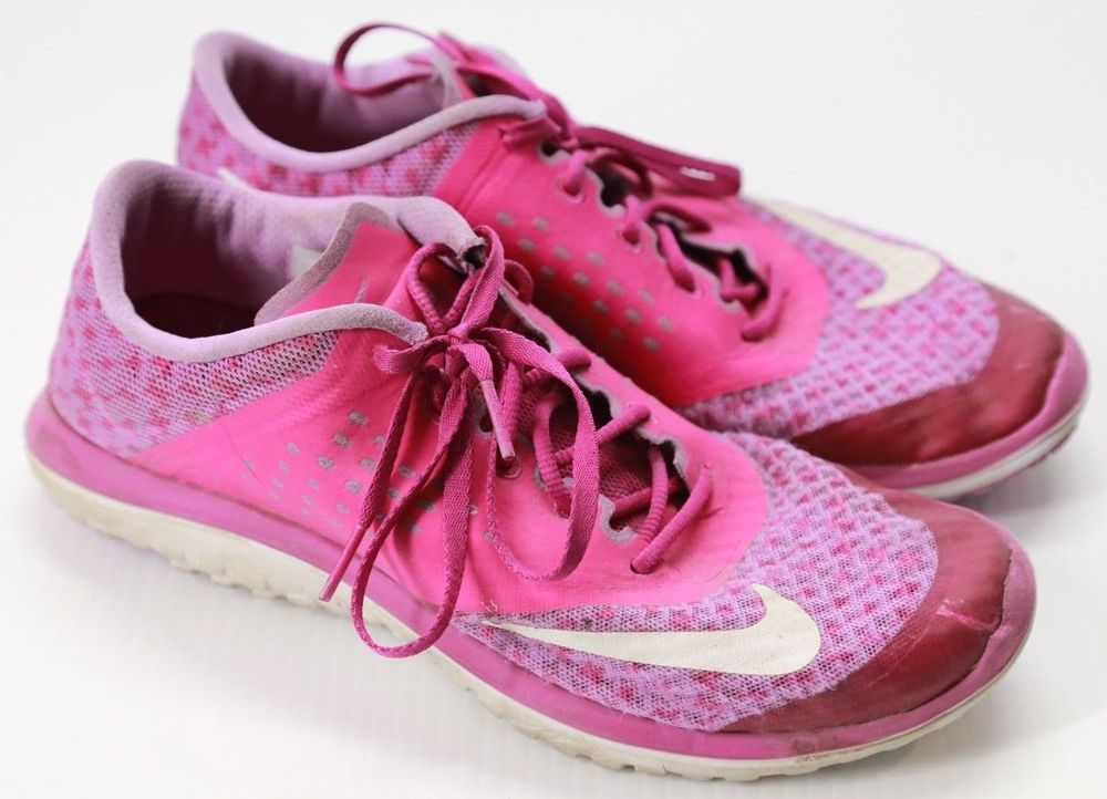 d33f69fd4a52 Women s Nike FS Lite Run 2 Premium Athletic Sneakers Pink Shoes Size 8.5   Nike  RunningShoes
