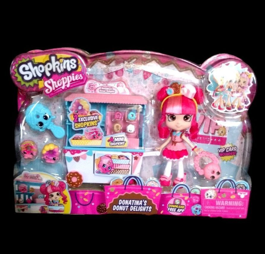 Details About Shopkins Shoppies Donatina S Donut Delights