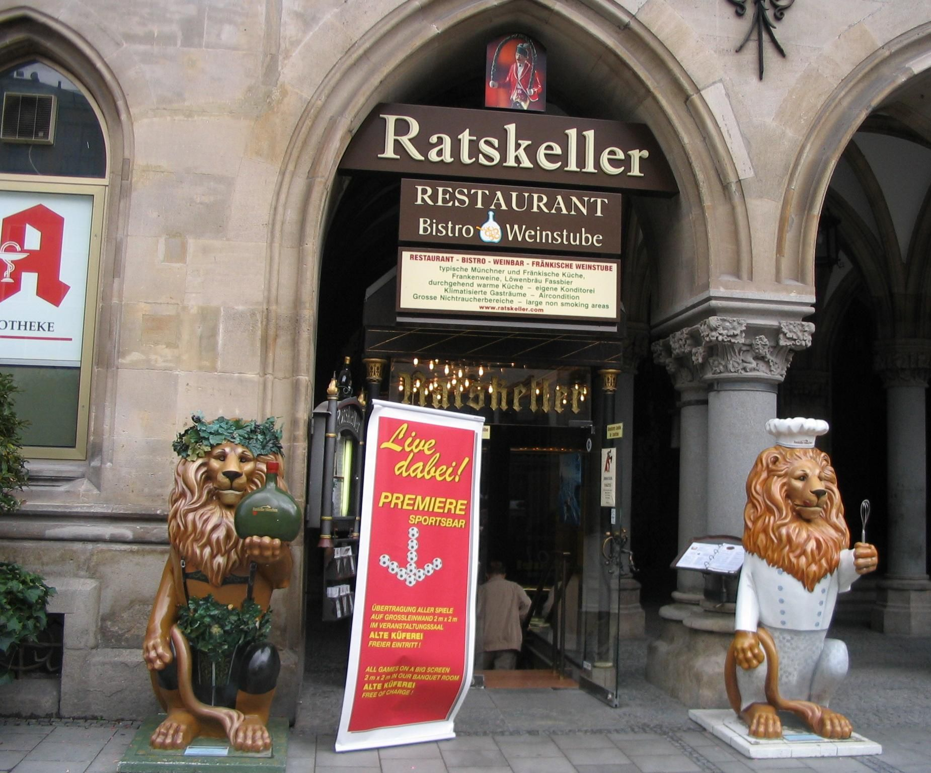 Ratskeller In Munich Where We Enjoyed Dinner With Cold Glass Of Radler Munich Dinner Radler