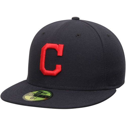 New Era Cleveland Indians MLB Authentic Collection 59FIFTY On Field Cap  NewEra 2 e6b290eb6