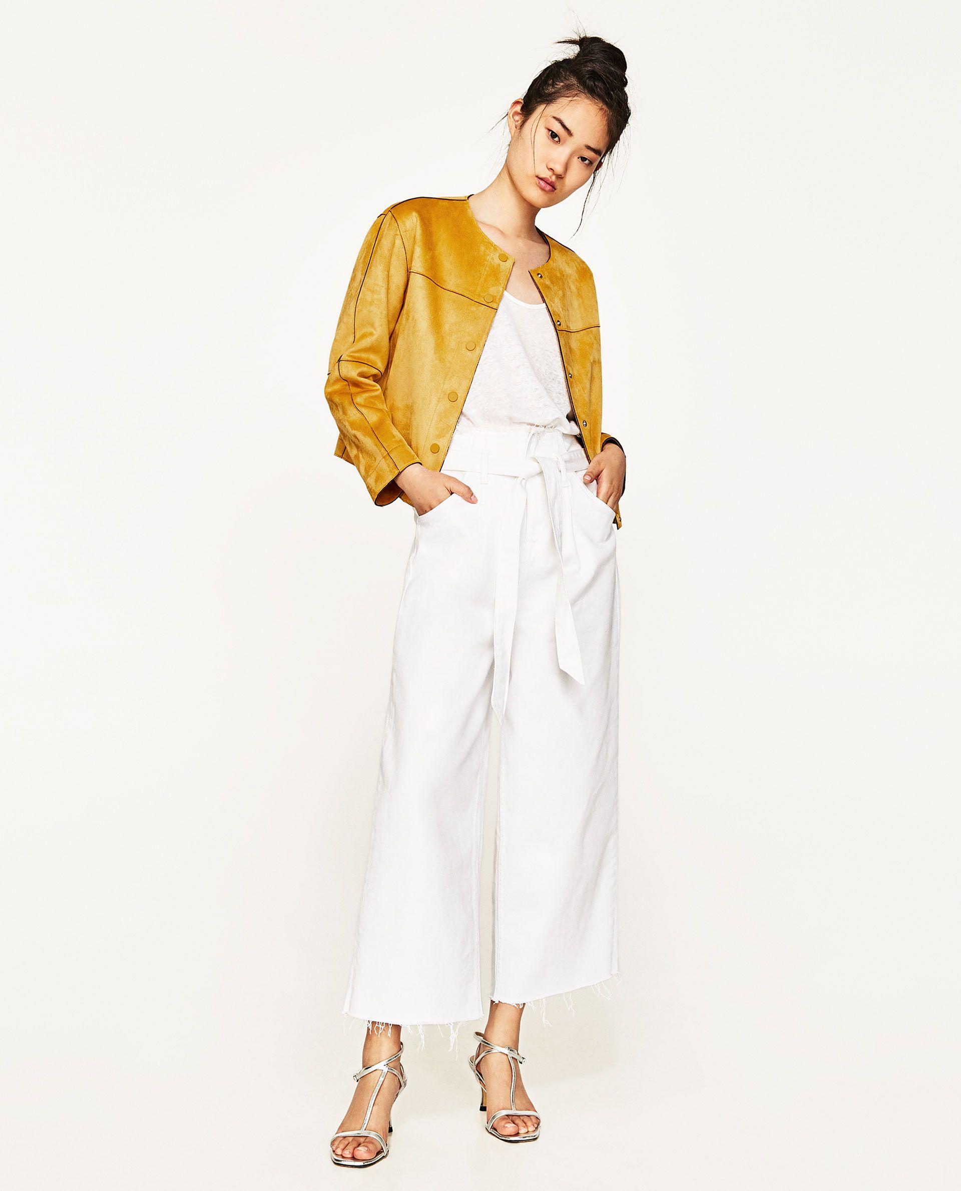 CAZADORA EFECTO ANTE | Cazadora, Zara y Tablón de moda
